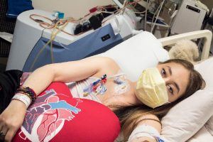 Heart transplant recipient, Gianna