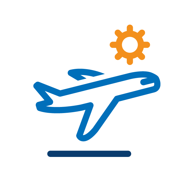 Traveling tips icon