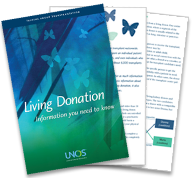 Living donor brochure