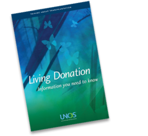 Download the UNOS Living Donation brochure