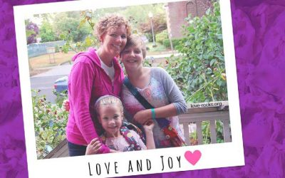 Susan Robinson: Donor mother and founder of Love Rocks